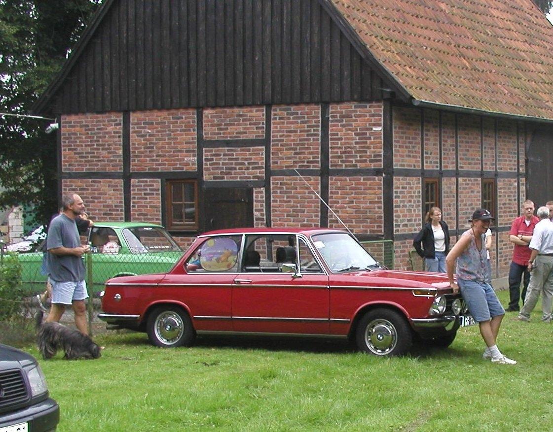 Durch meinen BMW 2002 und mein